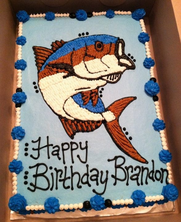 Sweet Treats By Susan Bass Fish Cake