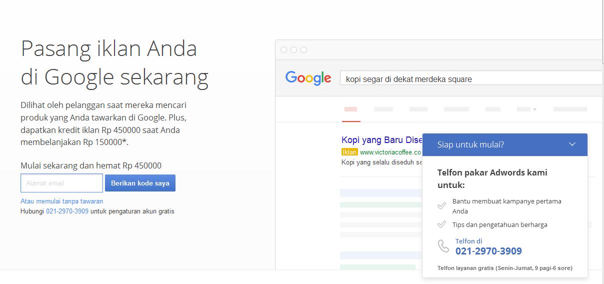 Cara Mendapat Kode Voucher Google Adwords Gratis Belajar Oh Belajar