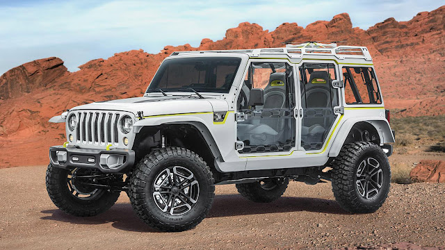 Jeep and Mopar brands reveal new concept vehicles for 51st annual Moab Easter Jeep Safari
