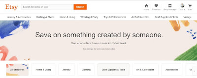 Etsy stressing creative goods