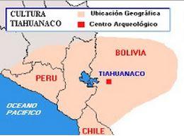 Ubicación de Tiahuanaco