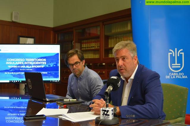 La Palma reunirá en el III Congreso de Territorios Insulares a más de 300 técnicos y profesionales de las nuevas tecnologías y la innovación