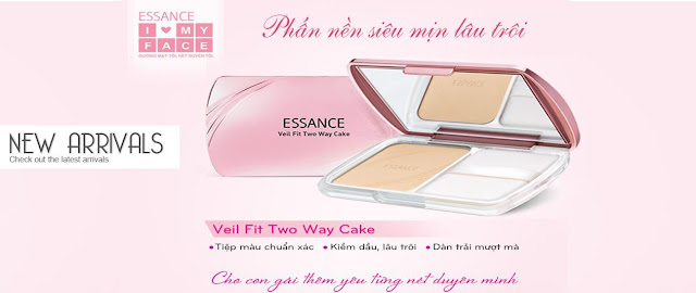 Review phấn nền Veil Fit Two Way Cake của Essance: mịn, lâu trôi, essance, veil fit two way cake, essance veil fit two way cake, veil fit two way cake essance, phấn nền, phấn nền giá rẻ, phấn nền giá bình dân