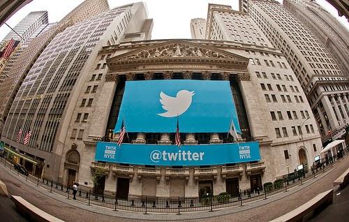 Twitter ging Ende 2013 an die Börse