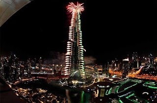 Watch: Burj Khalifa countdown to midnight