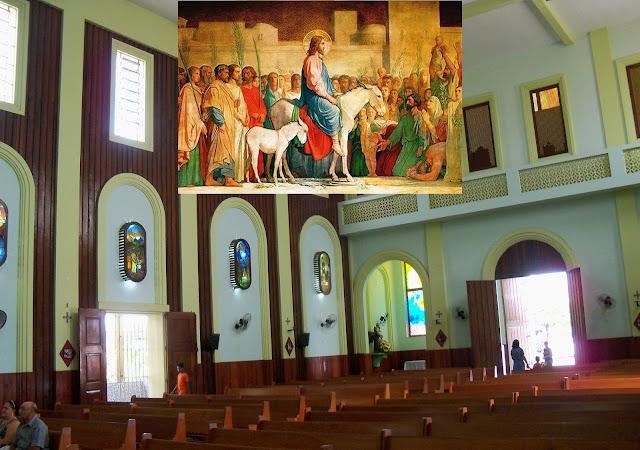 Igreja Católica define programação para o Domingo de Ramos em Alagoinhas