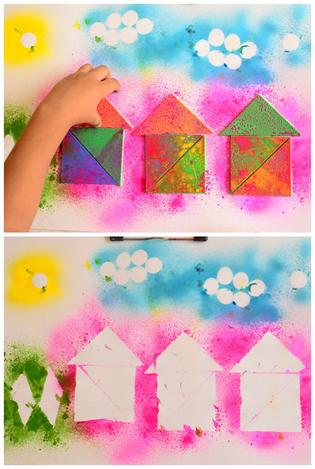 The Practical Mom: Paint with Tangram