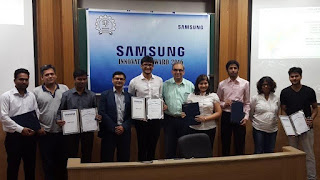 Samsung Innovation Awards 2016 Held At IIT Bombay