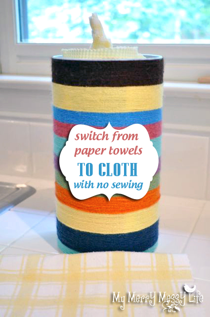 How We Ditched the Paper Towels and Went to Cloth