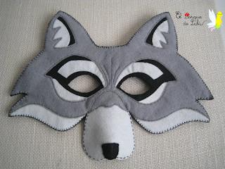 mascara-rabo-lobo-fieltro-elbosquedelulu-hechoamanoparati-disfraces-carnaval-antifaz