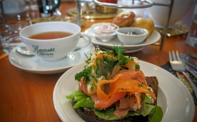 Afternoon Tea på Tesalongen hos Svenskt Tenn i Stockholm