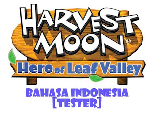 Harvest Moon Hero of Leaf Valley Bahasa Indonesia PPSSPP