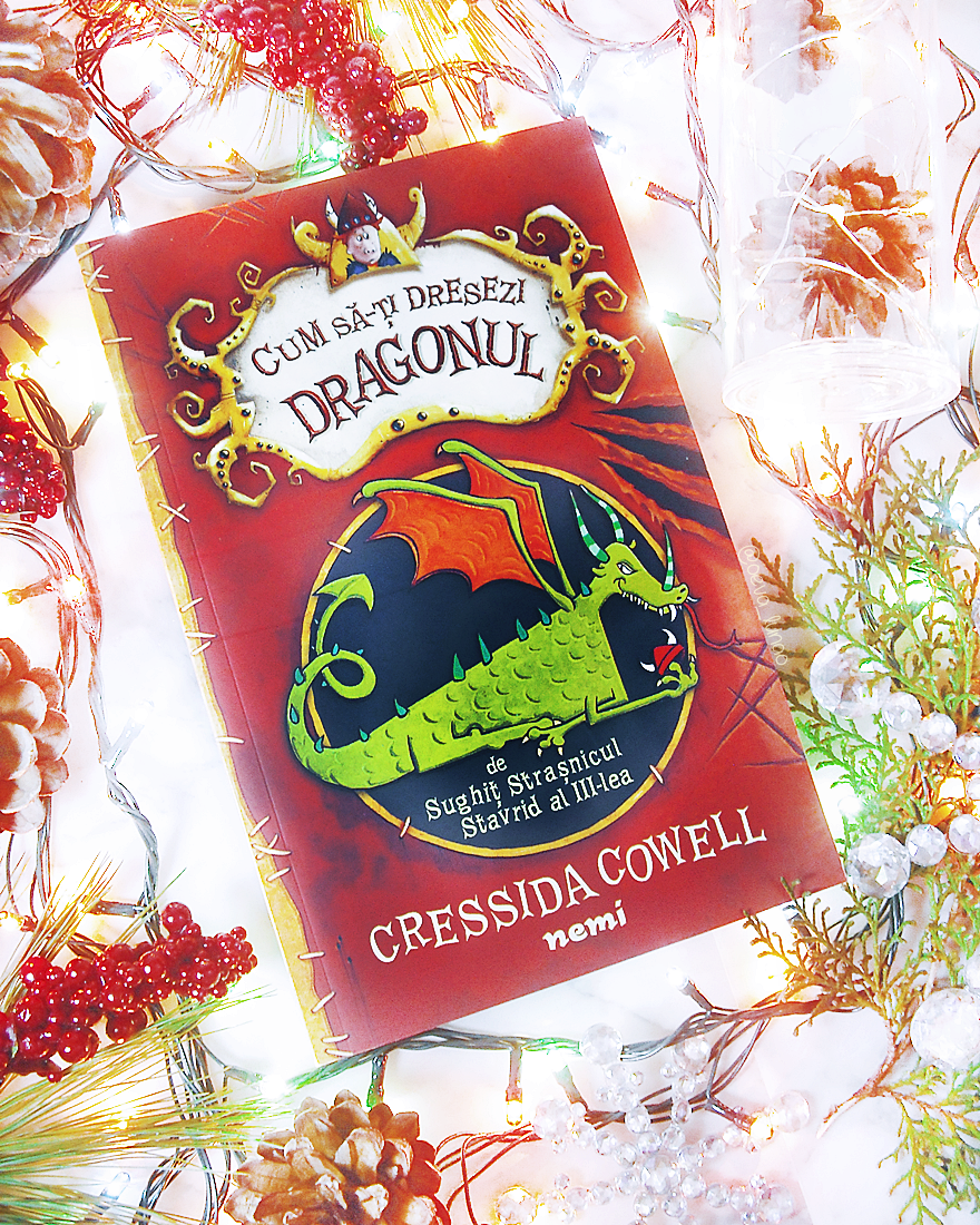 Cum sa-ti dresezi dragonul - How to train your dragon - Cressida Cowell - review