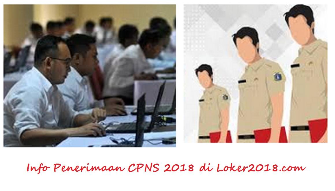 Pendaftaran CPNS 2018 Jalur Umum Lulusan SMA