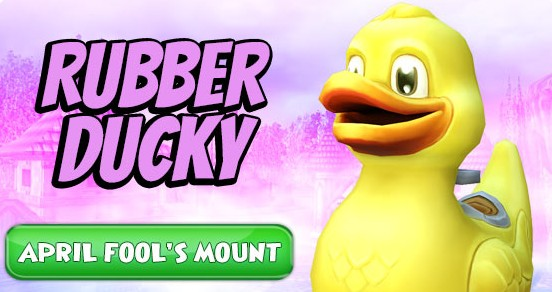 Rubber Ducky Mount