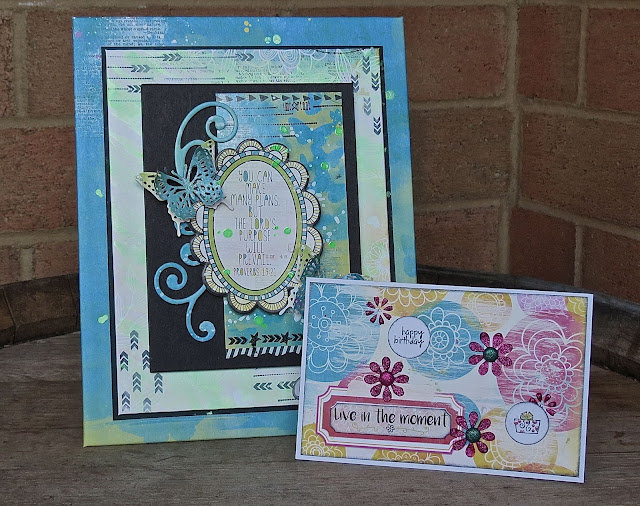 Believe Collection & Icon Stamps Project by Megan Gourlay for BoBunny