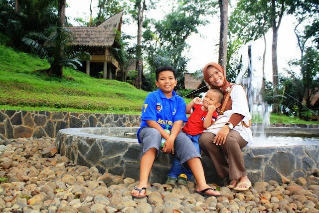 Taman di Rest Area Urug Kawalu Tasikmalaya