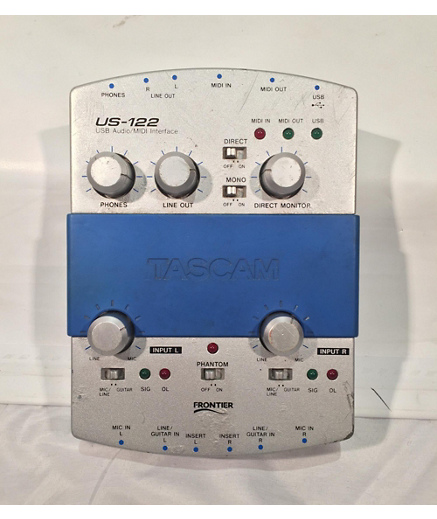 Peter Kruse Music: Install Tascam US-122 on Windows 8