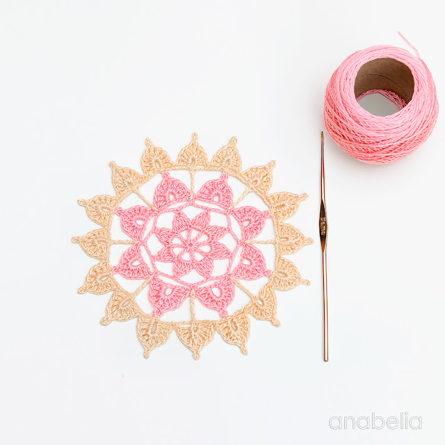 Crochet Motif 5 / 2017 pattern  Anabelia Craft Design