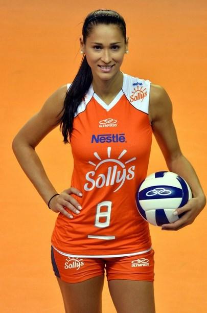 Jaqueline Carvalo  atlet cantik korea atlet cantik bulutangkis atlet cantik indo