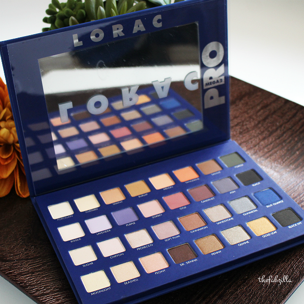 LORAC Mega Pro Palette 2, Review, Swatch