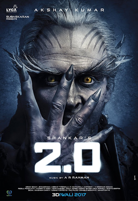 Akshay kumar first look poster in 2.0 movie