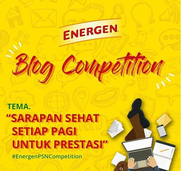 Kontes Blog Energen Pekan Sarapan Nasional 2018