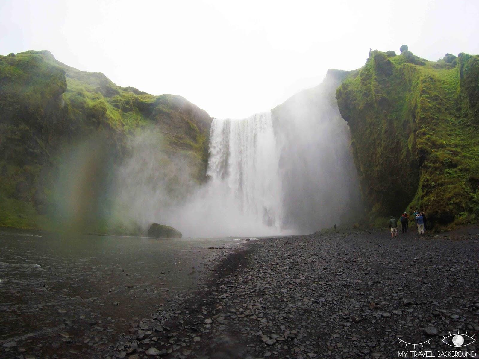 My Travel Background : les plus belles cascades du sud de l'Islande - Skogafoss