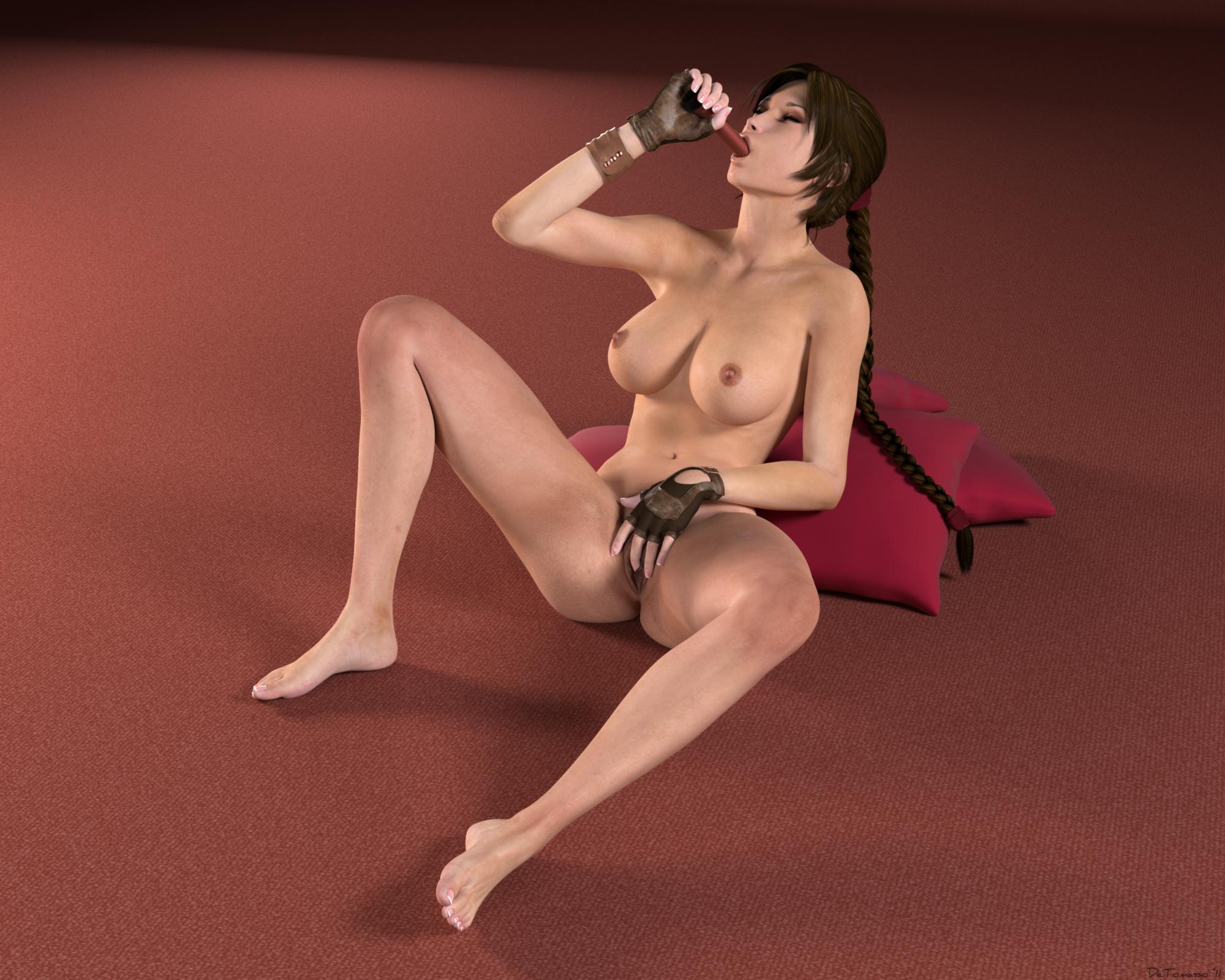 Лара крофт голая киска фото