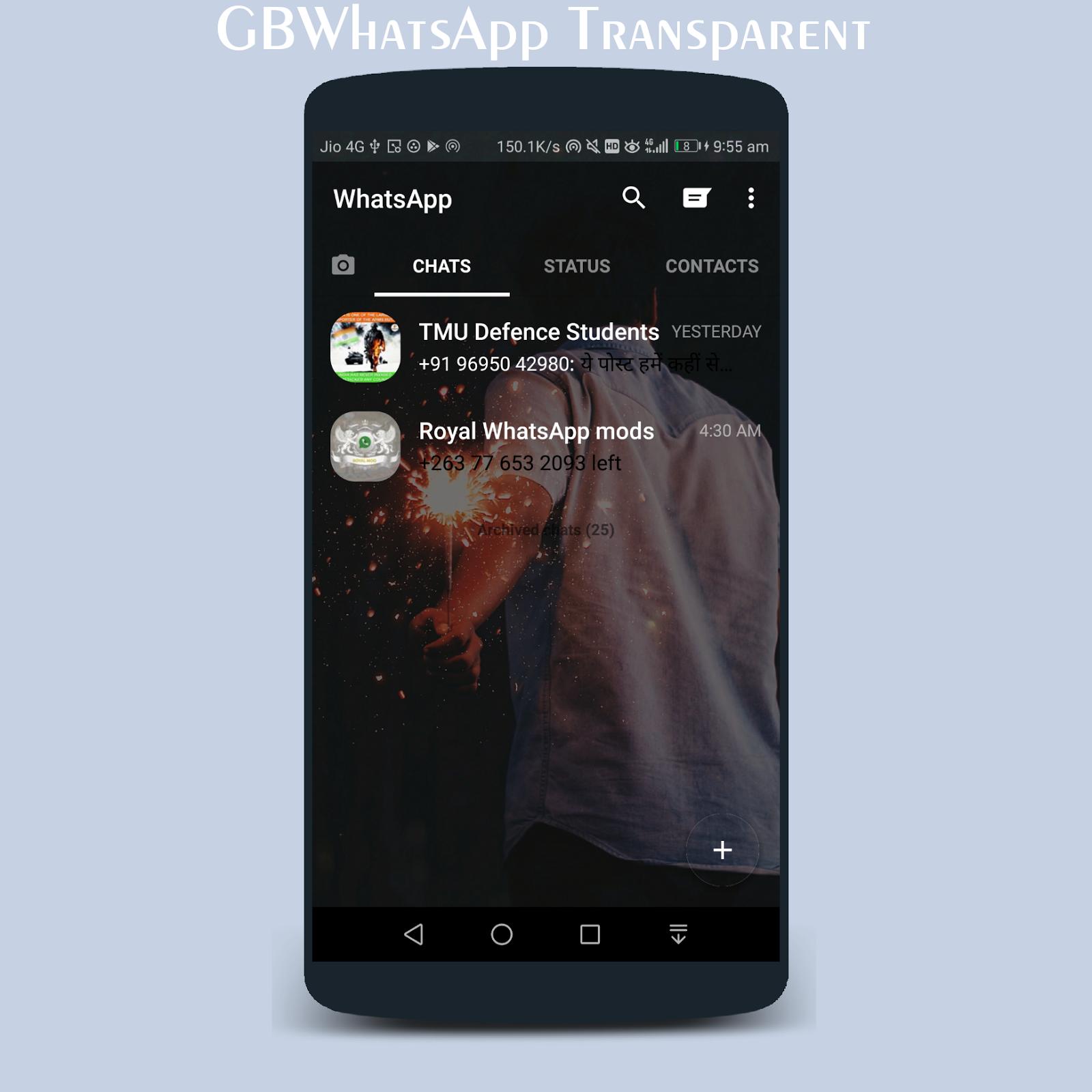 gb whatsapp transparent free download
