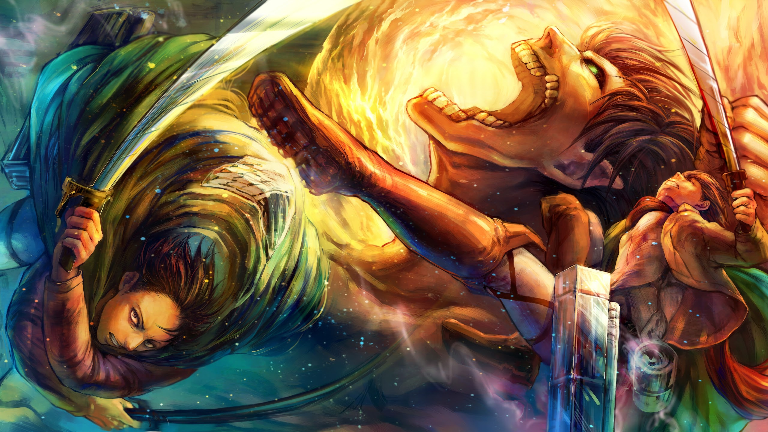 Attack on titan anime animated wallpaper and turn it into your cool desktop animated wallpaper. Levi, Attack Titan, Attack on Titan, 4K, #78 Wallpaper