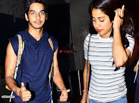 Jhanvi kapoor with her Hero ~  Exclusive Galleries 003.jpg