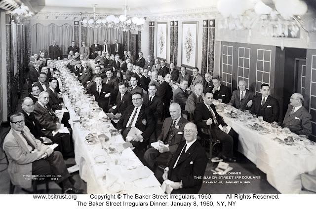 The 1960 BSI Dinner group photo