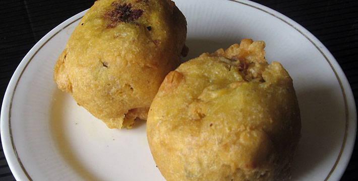 उपवासाचा बटाटा वडा - पाककला | Upavasacha Batata Vada - Recipe
