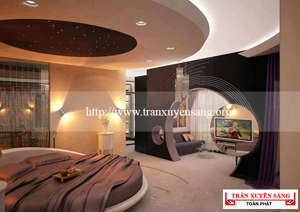 Mẫu trần phòng ngủ cổ điển 5