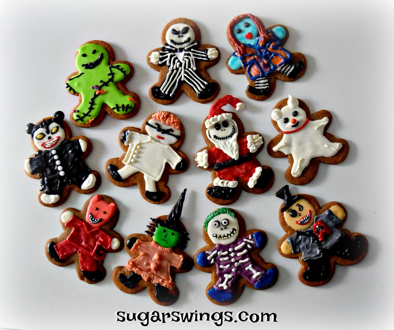 Sugar Swings! Serve Some: The Nightmare Before Christmas Gingerbread ...
