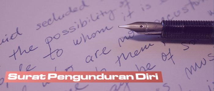 Download Contoh Surat Pengunduran Diri Guru