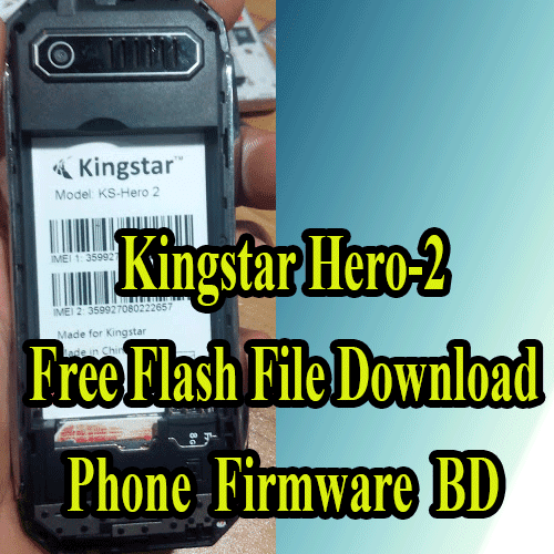Kingstar Hero-2 scr 6531e Flash File Download Without Password