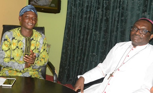 Bishop Oyejola visits Osun NUJ Correspondents' Chapel