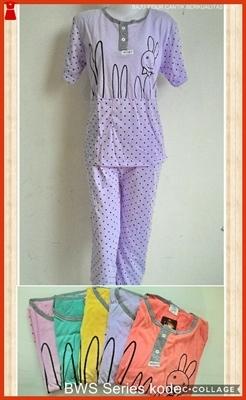 A25WS Jual Pakaian Pijamas Perempuan Dewasa Ungu