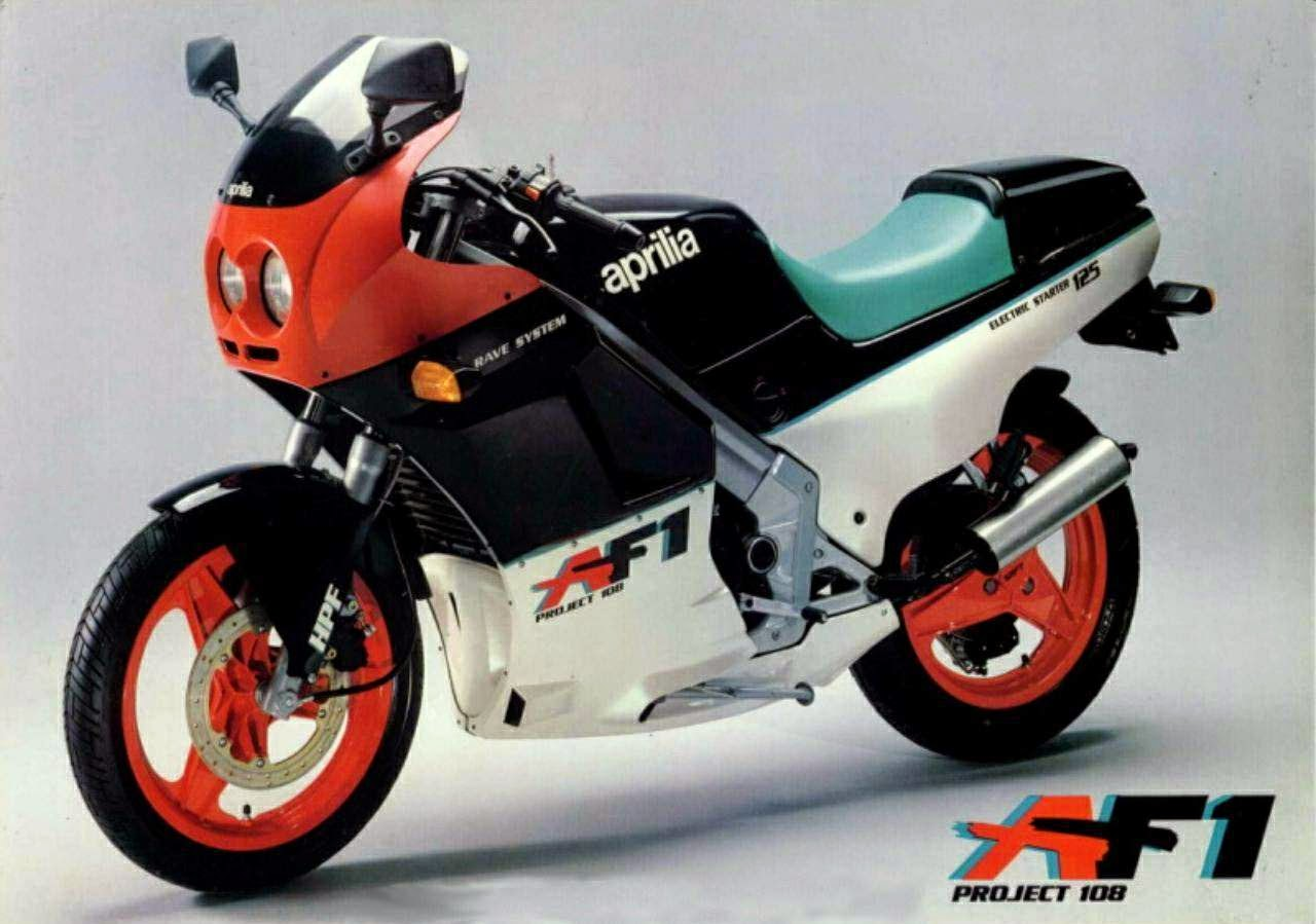 Aprilia Rs 125 Blog Af1 Model History Specs Wiring Diagram Project 108 Replica