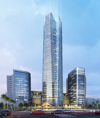 second image for Telkom Landmark Tower 2 Jakarta Indonesia with The Skyscraper Architecture: Telkom Landmark Tower