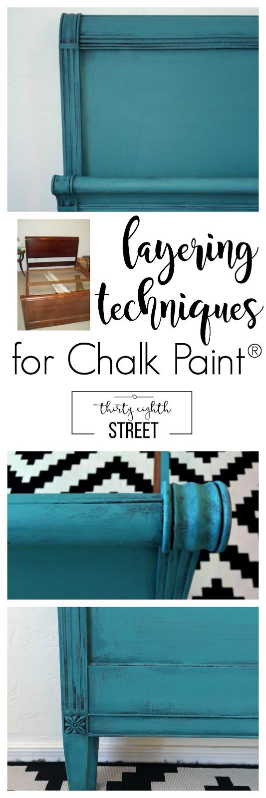 Layering Chalk Paint Tutorial