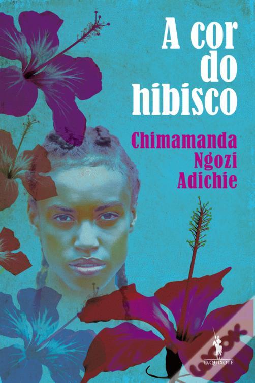 A cor do hibisco