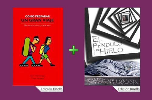 """Sorteo del libro """"Cómo preparar un gran viaje"""" y """"El péndulo de hielo"""" en formato ebook"""
