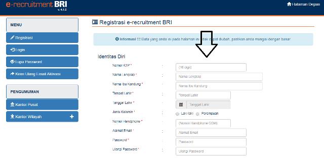 Cara Melamar Pekerjaan di Bank BRI Secara Online - List Kerja