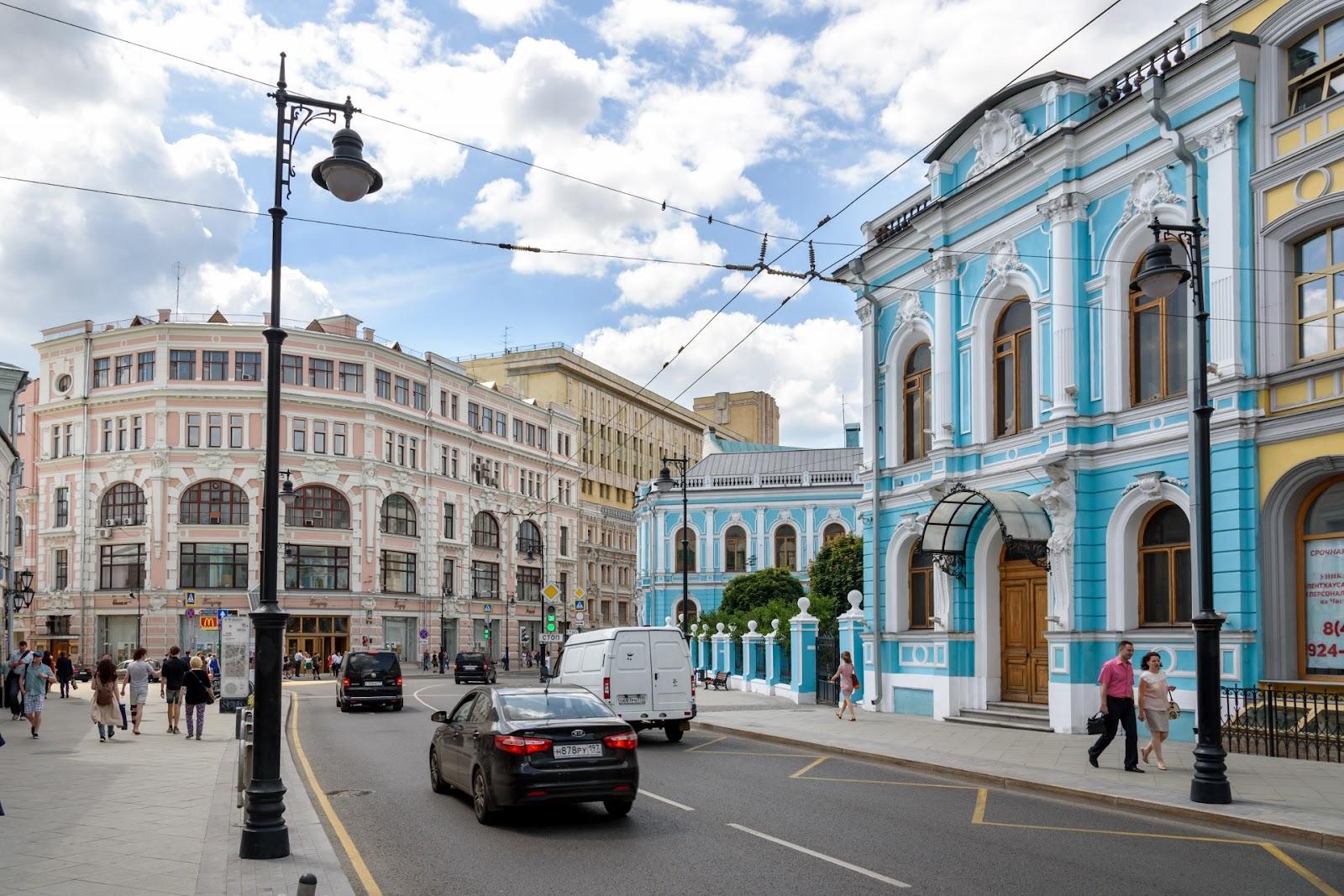 Мясницкая улица.
