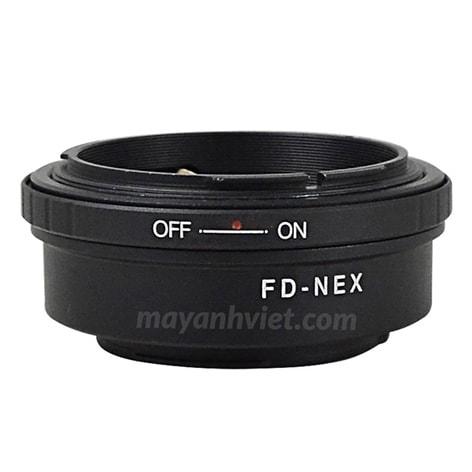 Ngàm chuyển Mount Canon FD-Nex