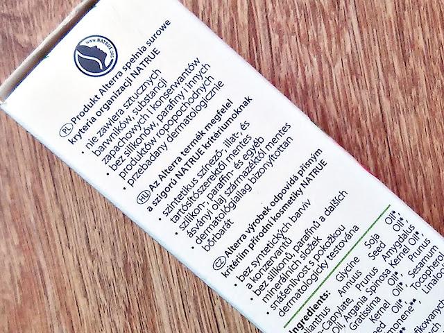 Alterra, Naturkosmetik - Olejek z pestek moreli do włosów suchych i łamliwych, informacje o produkcie