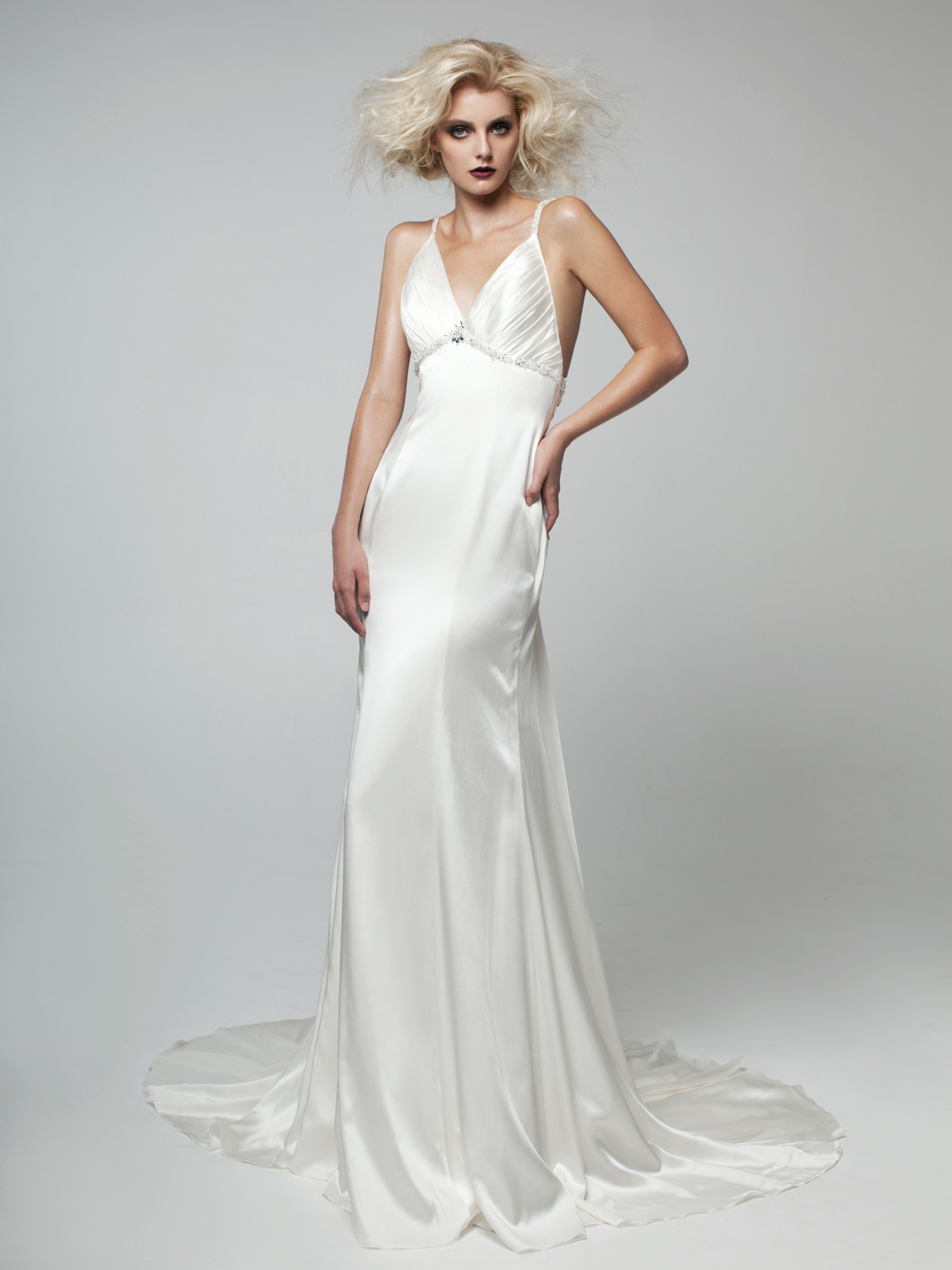 Casual + Beach Wedding Dresses Gowns